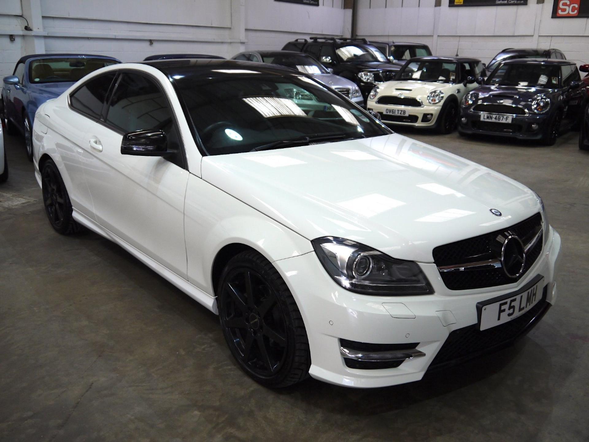 Safwat cars prestige cars southend on sea - Mercedes c250 sport coupe ...
